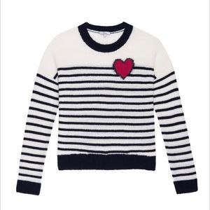 Rails Perci - Bretton Heart Stripe Sweater
